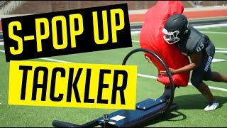 S Pop Up Tackling Sled | Football Practice Training Equipment