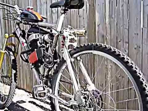 FAST GT LTS motorized bicycle with jack shaft shift kit