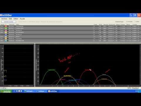Cómo Configurar tarjeta LAN y Wifi. Cambiar Canal Wifi y Qué es inSSIDer