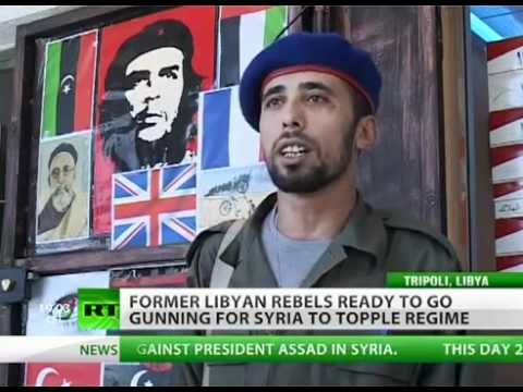 CIA ships Libya terrorists to Syria to facilitate civil war & topple Assad