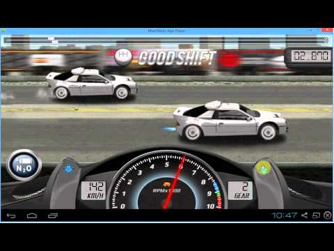 Drag Racing Ford RS200 Evolution Level 7 Tune Almost World Record 8.269 1/4 Mile