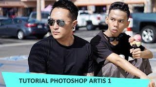 edit bareng artis DEMIAN ADITYA ( tutorial 1 )