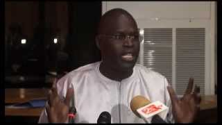 Conférence De Presse Mairie De Dakar