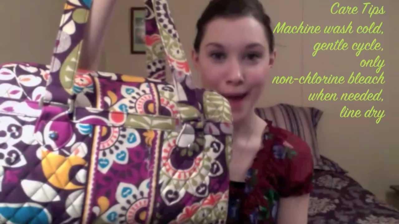 Vera Bradley Review - Caroline Handbag - YouTube 48b28db58ed0c