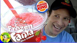 Burger King® FROZEN FANTA® WILD CHERRY Review