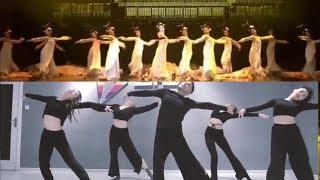 """[Weibo] 4 bản múa Full """"Song Diện Yến Tuân"""" hay nhất - Bạch lão sư #双面燕洵 #丽人行"""