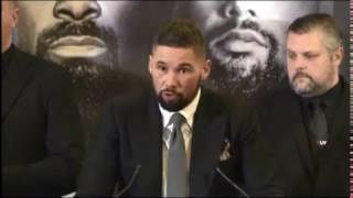 Haye Bellew Press Conference