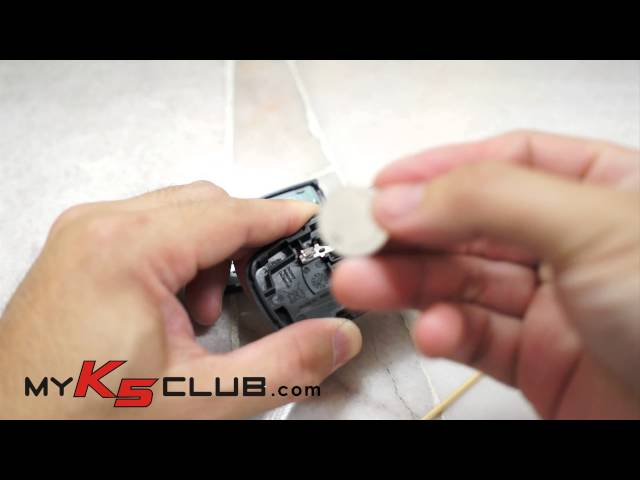 Video guide on how to change battery for KIA/HYUNDAI ...