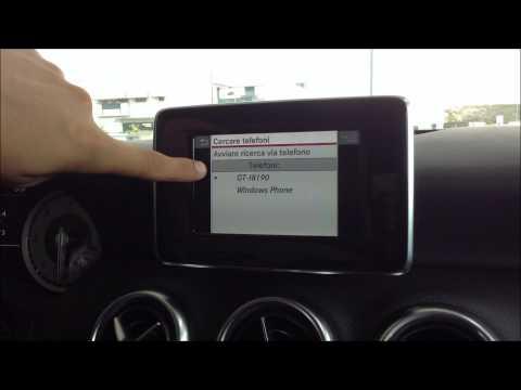 Audio 20 infotainment of Mercedes-Benz A180 CDI