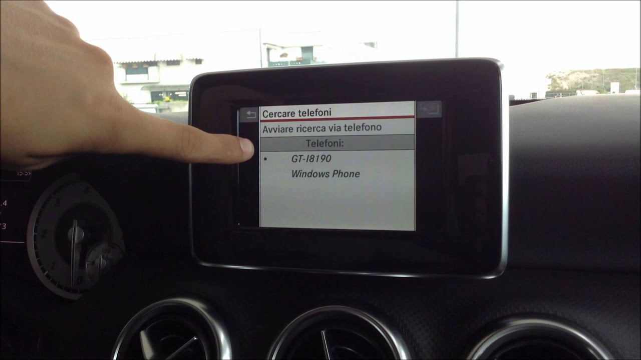 Audio 20 Infotainment Of Mercedes Benz A180 Cdi Youtube