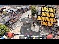 INSANE URBAN DOWNHILL MTB TRACK IN MEXICO!