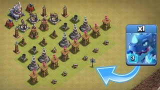 MAX TROOPS vs LEVEL ONE DEFENCES!! 🔥 IMPOSSIBLE TROOP CHALLENGE IN CLASH OF CLANS! 🔥