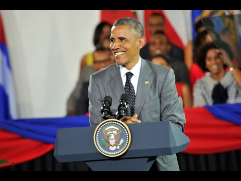 Greetings massive! Obama addresses Jamaican youths