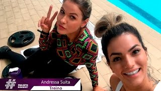 Treino - Andressa Suita - Projeto Baba Baby