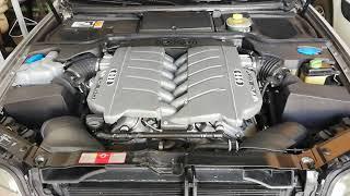 Audi A8 W12 6.0 Start up