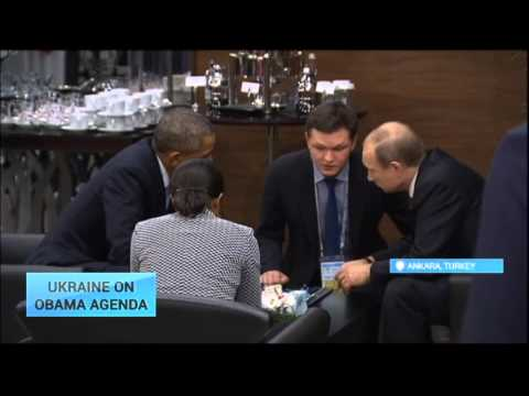 Ukraine on Obama Agenda: Presidents of Russia and US meet in Ankara at G20
