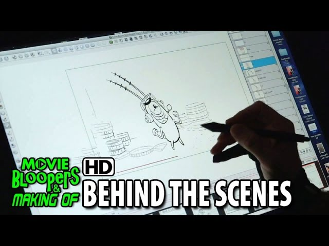 The SpongeBob Movie: Sponge Out of Water (2015) Making of Animation