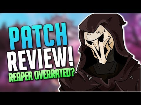 Reaper Buffs Good Enough? + McCree Buffs! + Roadhog NERFS! (Overwatch Patch 1.12 Notes)