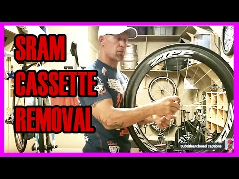 How To Remove A Sram Rear Cassette Lockring Cassette