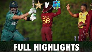 Full Highlights | Pakistan vs West Indies | PCB | MA2T