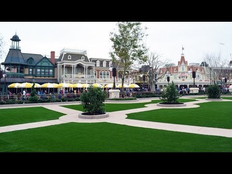 Magic Kingdom HUB Expansion - Plaza Garden East Full Tour Including Fireworks Fastpass Area