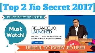 Top 2 Jio Secret in Happy New Year Offer | Every Jio User Must Watch!