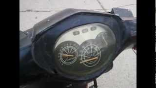 50cc Moped that I sold.