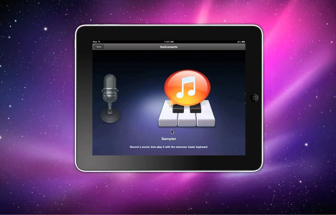 Ipad 1 vs Ipad 2 Garageband Garage Band 4 Ipad 1 2