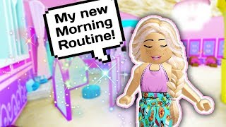 MY MORNING ROUTINE AS A PRINCESS IN THE NEW CASTLE 👑🏰 // Roblox Royale High School Update