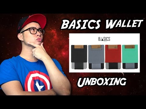 BASICS (NOMATIC) Wallet Unboxing