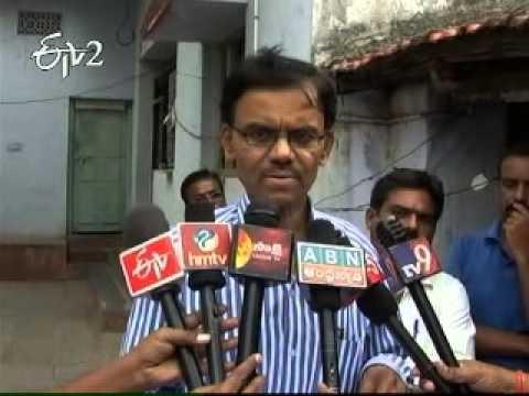 Karimnagar people raise their voice against Corruption