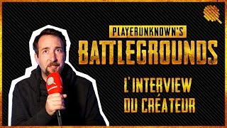 Interview du créateur de PlayerUnknown's Battlegrounds (PUBG)