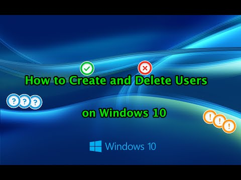 How to Manage Microsoft and User Accounts in Windows 10