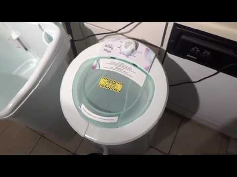The Laundry Alternative Mega Spin Dryer - Quick demo