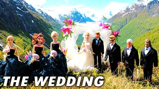 Frozen Anna & Kristoff WEDDING with Elsa, Disney Princess Rapunzel, Ariel The Little Mermaid, Hans