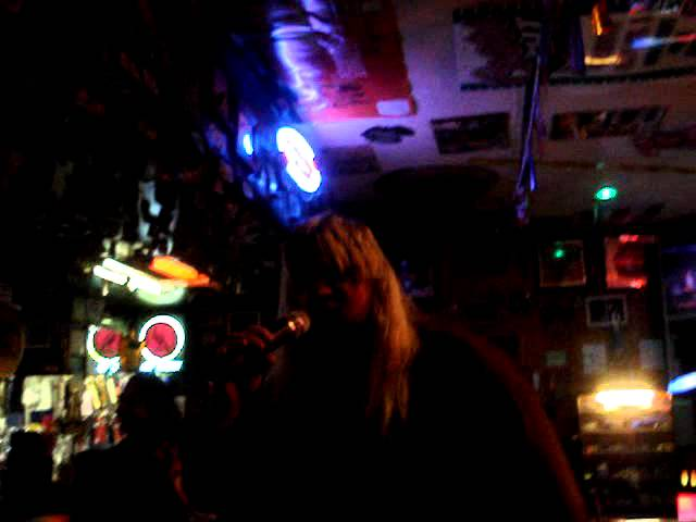 Tractor Jay Singing Cheech & Chongs Earache My Eye @ Rumors Bar in Show Low Az.