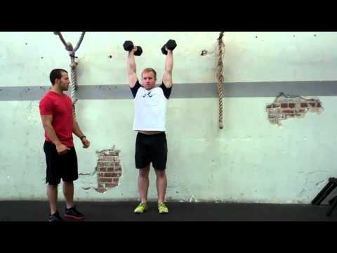 Dumbbell Push Press Demontration Image 1