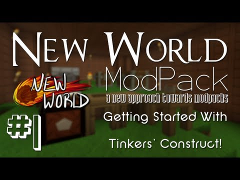 Minecraft FTB New World Mod Pack - #1 - A new approach to minecraft mod packs!