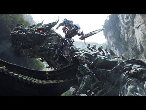 Transformers 4: Age of Extinction trailer (Dinobots)