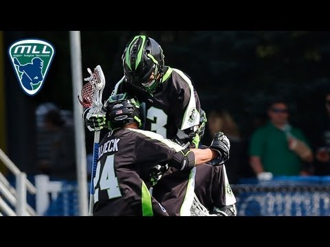MLL Week 1 Highlights: Boston Cannons at New York Lizards