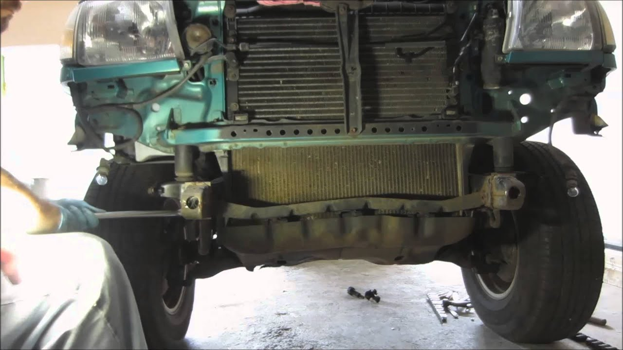 1998 Tacoma Front Lift Removal Part 1 Quot Project Body Lift