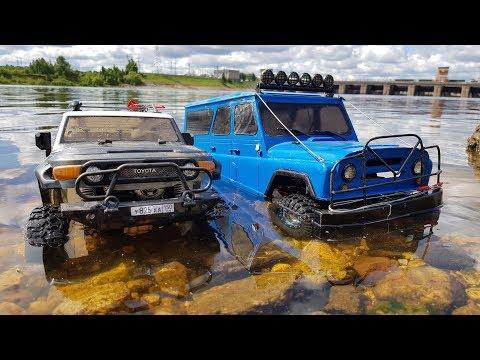 Сравнительный тест-драйв BLUAZа и Toyota FJ Cruizer