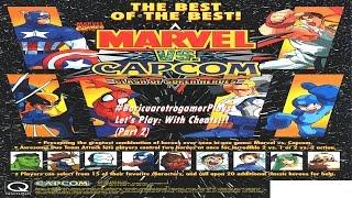 Let's Play: Marvel Vs Capcom Part 2 (With Cheats)
