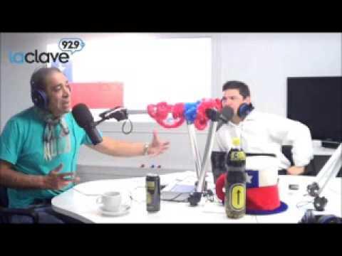 Bonvallet en contacto telefónico para radio 10 de Argentina con Beto Casella y Pablo Dugan.