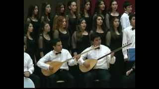 Adana Güzel Sanatlar Lisesi  Çoksesli Koro HARMAN YERİ SÜRSELER Şef : Betül GÜMÜŞ