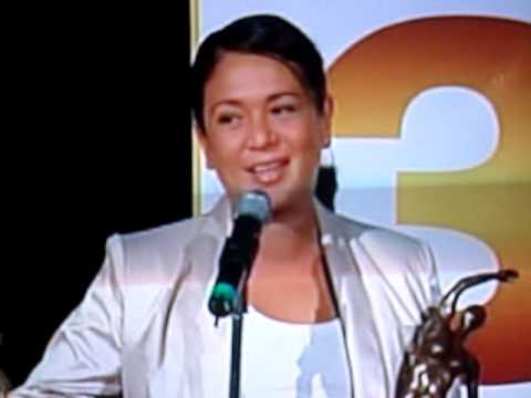 Yolanda Andrade en los premios Tv y Novelas