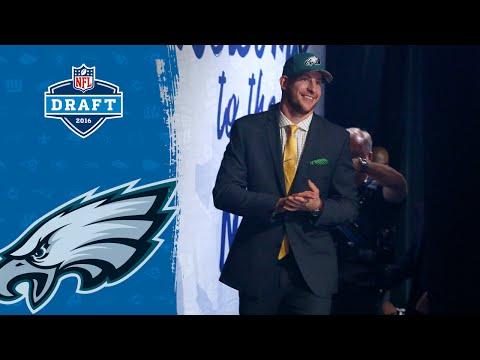 "Carson Wentz (QB): ""I'm Pumped to be an Eagle"" | 2016 NFL Draft"