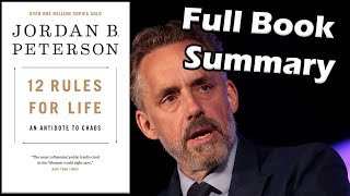 12 RULES for LIFE an Antidote to Chaos by Jordan Peterson Book Summary Animated