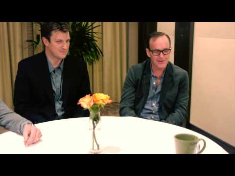 Nathan Fillion, Alexis Denisof and Clark Gregg (Much Ado About Nothing) - SXSW Interview