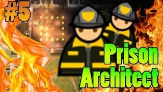 POŻAR! ★ Prison Architect ★ Update 16 ★ Gameplay po polsku